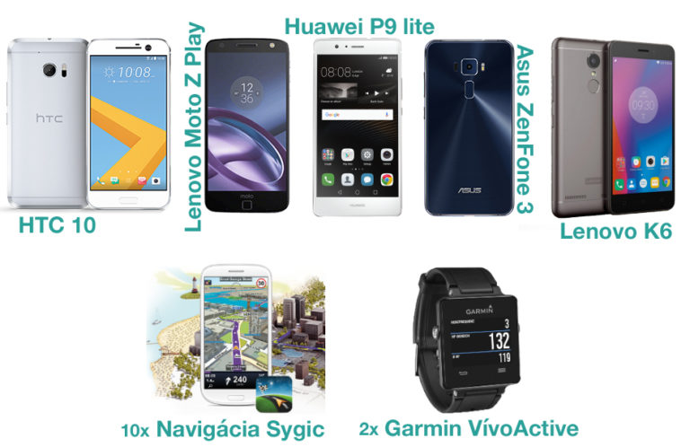 Hlasuj v ankete Android roka 2016 a vyhraj jeden z 5 smartfónov