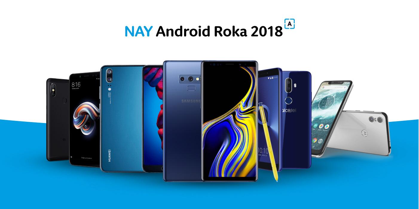 cd602e795 NAY Android Roka 2018: Hlasuj za najlepšie smart zariadenia a vyhraj